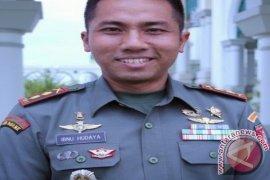 TNI-Polri Padamkan Kebakaran Lahan di Kutai Timur