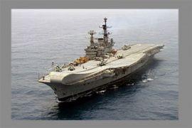 Satu tewas, empat cedera akibat kebakaran di kapal induk India