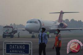 Asap mulai ganggu penerbangan di Aceh