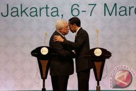 Presiden sampaikan pesan Indonesia kepada Mahmoud Abbas