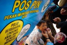 Dinkes Bekasi Penuhi Target Imunisasi Polio 2016