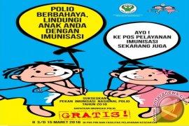 33.351 Anak Di Tapsel Sasaran PIN Polio