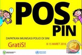 Dinkes Sediakan 138 Pos PIN Polio