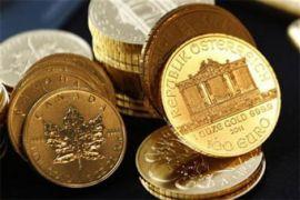 Harga emas naik tipis setelah saham AS melemah