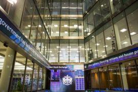 Bursa Inggris ditutup merosot 91,94 poin