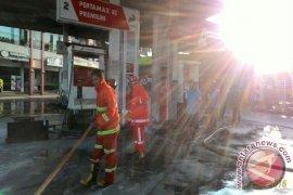 Hiswana Migas Telusuri Penyebab Kebakaran SPBU Yasmin