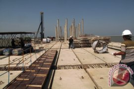 Pengerjaan Pembangunan Kuala Tanjung