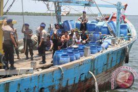 TNI AL sering temukan kapal asing curi ikan di perbatasan Malaysia, Filipina