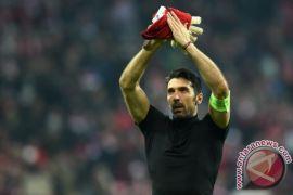 Buffon sedih Italia tak lolos ke Piala Dunia