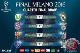 Hasil Pertandingan Perempat Final Liga Champions