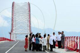 """Jembatan """"Pak Kasih"""" Tayan, Jembatan terpanjang di Kalimantan"""