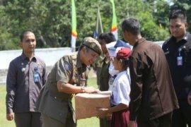 Gubernur Lampung Pimpin Apel Besar HUT Ke-66 Pol PP 2016 Di Metro