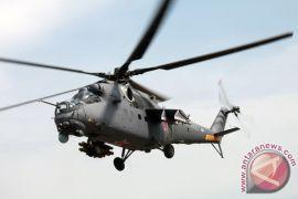 Helikopter militer Irak jatuh, tiga awak tewas