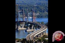 Presiden resmikan jembatan Merah Putih, terpanjang di Indonesia Timur