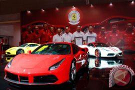 51 unit Ferrari di diler Jepang hancur terkena Topan Jebi