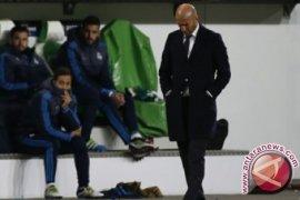 Zidane: Real Madrid dapat selamatkan musim dengan atasi Wolfsburg