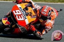 Kualifikasi MotoGP, Marquez di depan Lorenzo dan Rossi