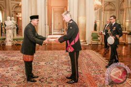 Dubes RI serahkan surat kepercayaan kepada raja Belgia