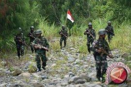 TNI-Polri dengan KSB kembali terlibat baku tembak di Puncak Papua