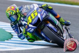 Rossi juarai balap MotoGP Spanyol