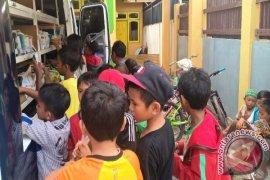 Perpustakaan Keliling Penajam Sambangi Warga Empat Kecamatan