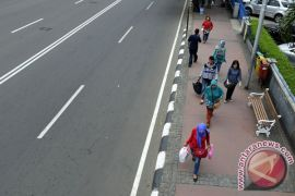 """Trotoar Sudirman-Thamrin akan dihiasi """"Walk of Fame"""" atlet"""