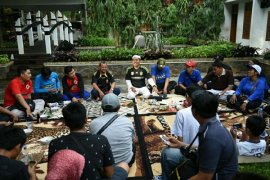 Perwakilan Buruh Makan Bersama Bupati Purwakarta
