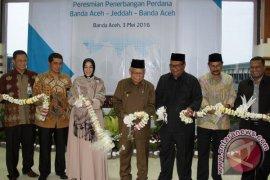 Gubernur: Jalur Penerbangan Aceh-Jeddah Tingkatkan Pertumbuhan Ekonomi