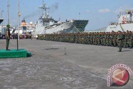 Satgas Yonif Mekanis 413 Kostrad ke Perbatasan RI-Papua Nugini