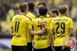 Klasemen Liga Jerman, Dortmund memburu peringkat ketiga