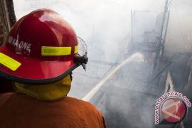 Kebakaran di Krukut Taman Sari