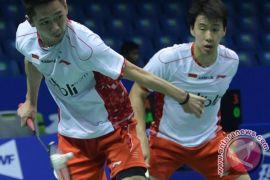 Marcus/Kevin berjuang capai perempat final Hong Kong