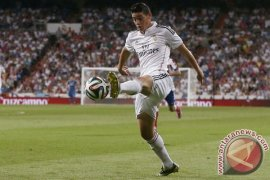 Juventus berminat boyong James Rodriguez
