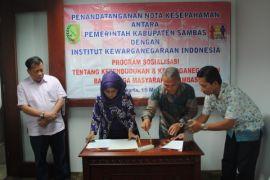 Kabupaten Sambas dan IKI MoU percepatan penyelesaian masalah kewarganegaraan
