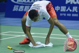 Tommy Sugiarto tumbang, tunggal putra habis di HK