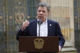 Presiden Kolombia perpanjang gencatan senjata dengan FARC
