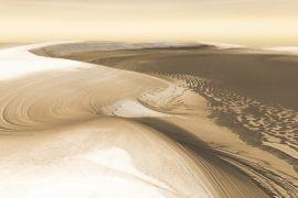 Citra radar ungkap akhir zaman es di Mars