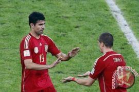Setelah cetak gol, Costa memuji Lopetegui