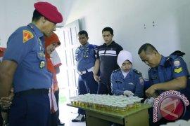 Anggota Lanal Lhokseumawe tes narkoba