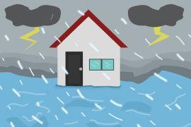 Banjir landa empat kampung di Kabupaten Waykanan