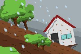 Rumah warga di Malang tergerus longsor