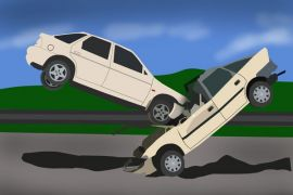 Truk menabrak mobil Kijang, dua orang tewas