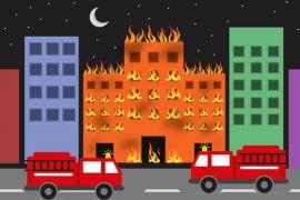 Kebakaran terjadi di gedung tinggi permukiman Dubai