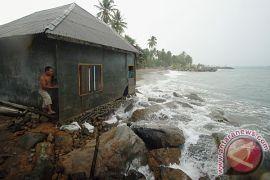 20 rumah terancam abrasi di Bengkulu
