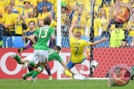 Euro 2016 - Gol bunuh diri selamatkan Swedia dari kekalahan atas Irlandia
