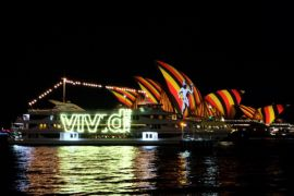 "Menikmati Sydney dalam balutan cahaya ""vivid"""