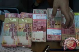 Pelemahan rupiah 0,24 persen dianggap belum signifikan