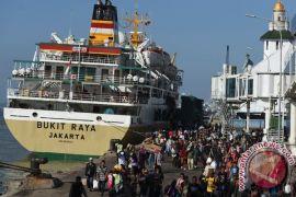 4,95 juta pemudik siap diangkut dengan kapal