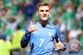 Euro 2016 - Antoine Griezmann kokoh di puncak top skor sementara