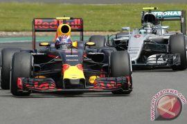 Verstappen tercepat dalam sesi latihan di GP Jerman